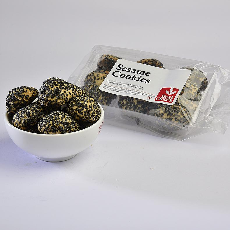 Sesame Cookies Black