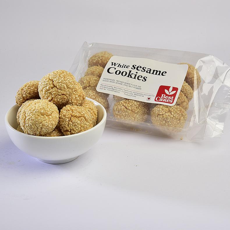 Sesame Cookies white