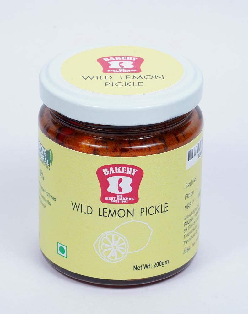Wild Lemon Pickle